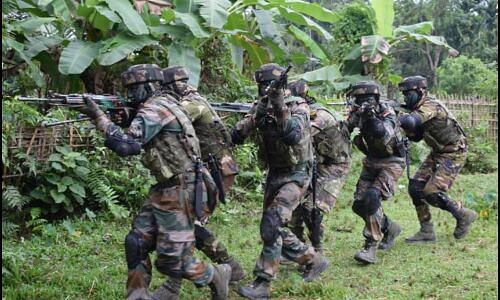 Counter Insurgency and Jungle Warfare School observes 51st Raising Day in Mizoram
