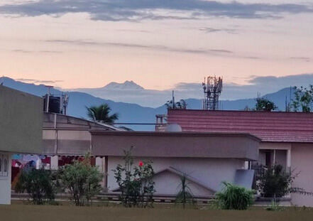 One of worlds highest peaks, Kangchenjunga is now visible from places in West Bengal