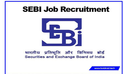 Securities and Exchange Board of India Recruitment 2020 Multiple Vacancies
