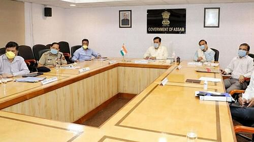 Assam Cabinet Meeting at 5pm today as State's COVID situation worsens
