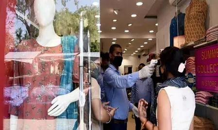 Showrooms reopens in Shaheen Bagh