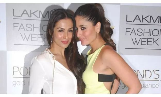 Actresses Kareena Kapoor Khan, Malaika Arora bond over kaftan