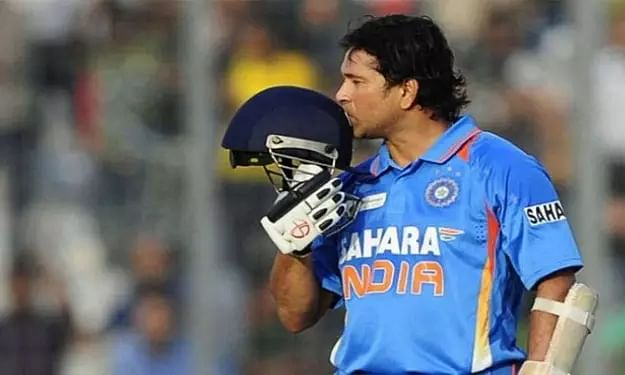 On This Day: Sachin Tendulkar scores emotional ton in WC after fathers demise
