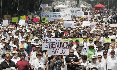Anti-government protests in Mexico