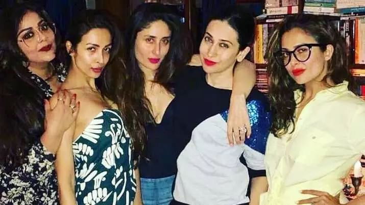 Bffs that pout together stay forever says Malaika Arora