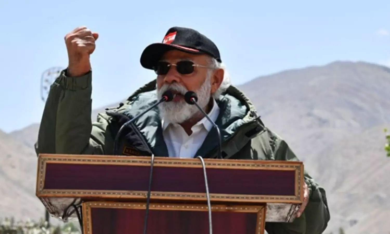 prime minister modi ladakh visit