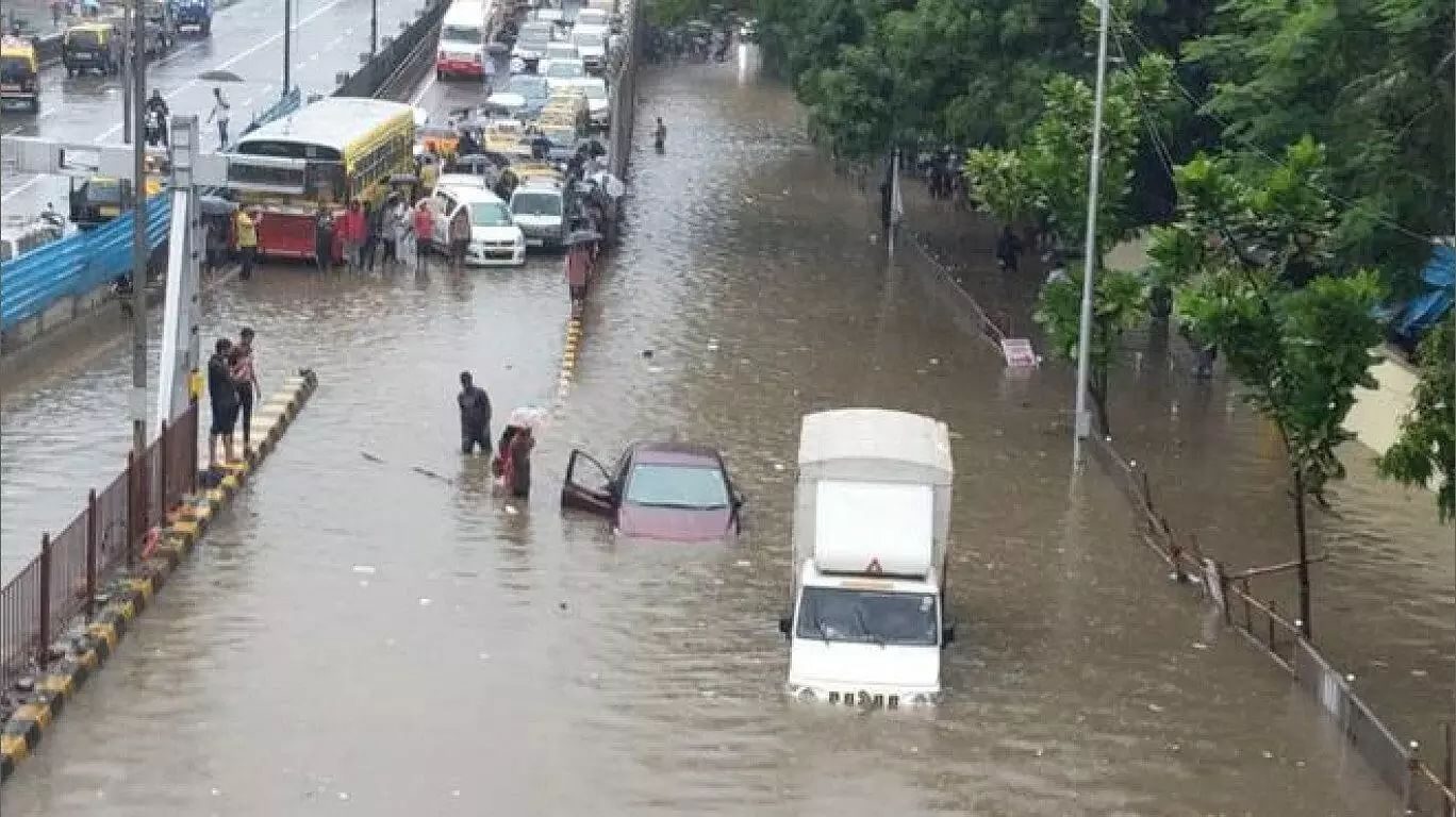 Mumbai flood situation