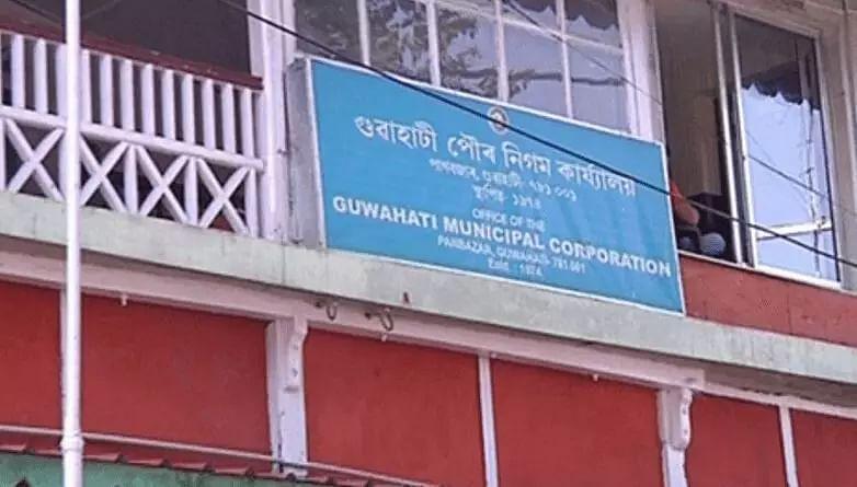 Guwahati Municipal Corporation Gmc Conducts Eviction Drive