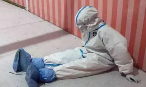 GUWAHATI NURSE in PPE KIT