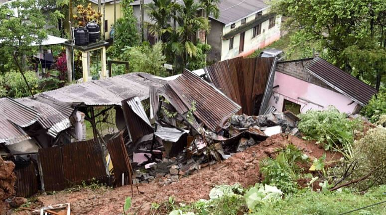 East Siang district hit by flash floods, landslides triggered by incessant rain