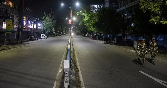 Total curfew imposed in Shillong & suburbs: COVID-19 pandemic
