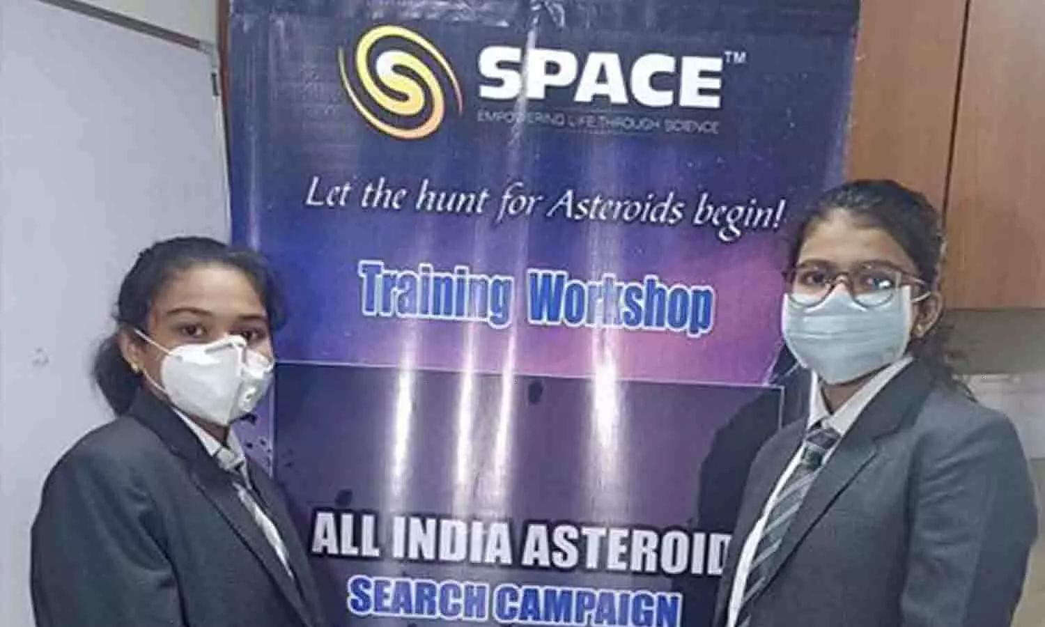 2 school girls from Surat discover asteroid moving towards Earth