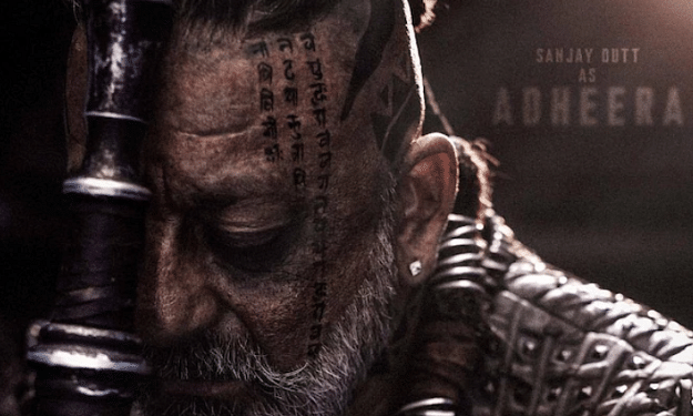 KGF: Chapter 2 makers release Sanjay Dutts look from the film on actors 61st birthday