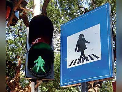 Gender Equality, Mumbai traffic signal, Brihanmumbai Municipal Corporation, gender equality on roads, Aaditya Thackeray tweet