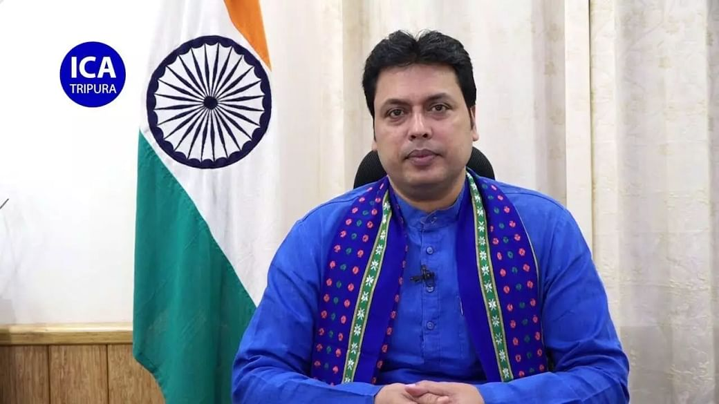 Tripura CM Biplab Kumar Deb tests negative for coronavirus - Sentinelassam