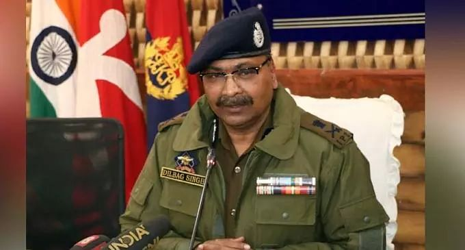 J&K police chief