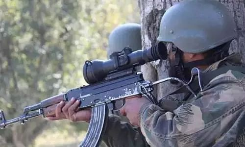 J&K, Terrorism, Gunbattle, Search Operation