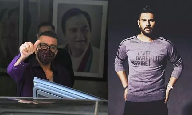 You are a fighter: Yuvraj Singh backs Sanjay Dutt to defeat lung cancer