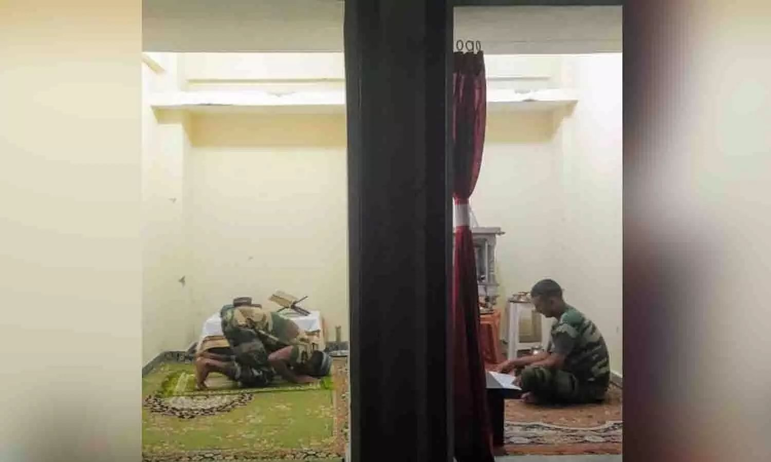 Mosque and temple under one roof: Viral picture shows diversity in Indian Army