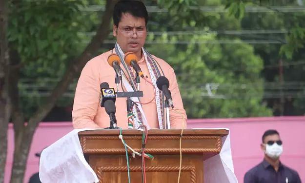 Tripura will be Northeasts logistics hub: CM Biplab Deb