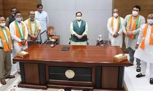 N Biren Singh, Manipur, Congress, BJP, JP Nadda