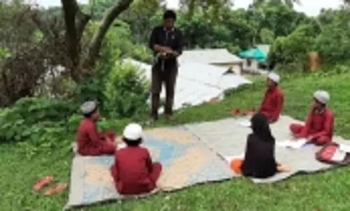 Neighbourhood Classes In Open Space Launched In Tripura Sentinelassam