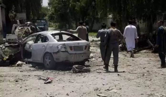 Afghanistan IED blast