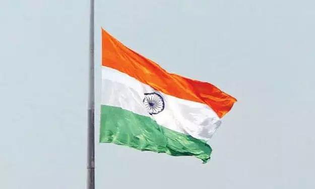 Half mast Indian flag, Demise of Pranab Mukherjee
