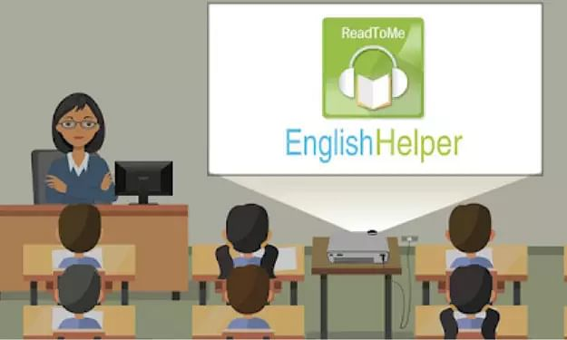 EnglishHelper & Schoolnet introduce Technology for English in Assam Schools!