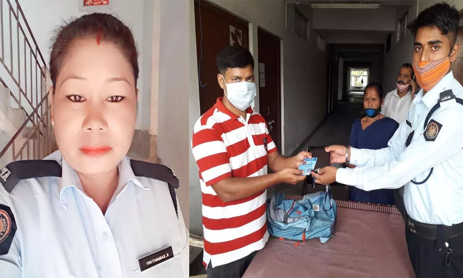 Guwahati: Traffic cop lauded by netizens after she returns wallet full of cash & documents