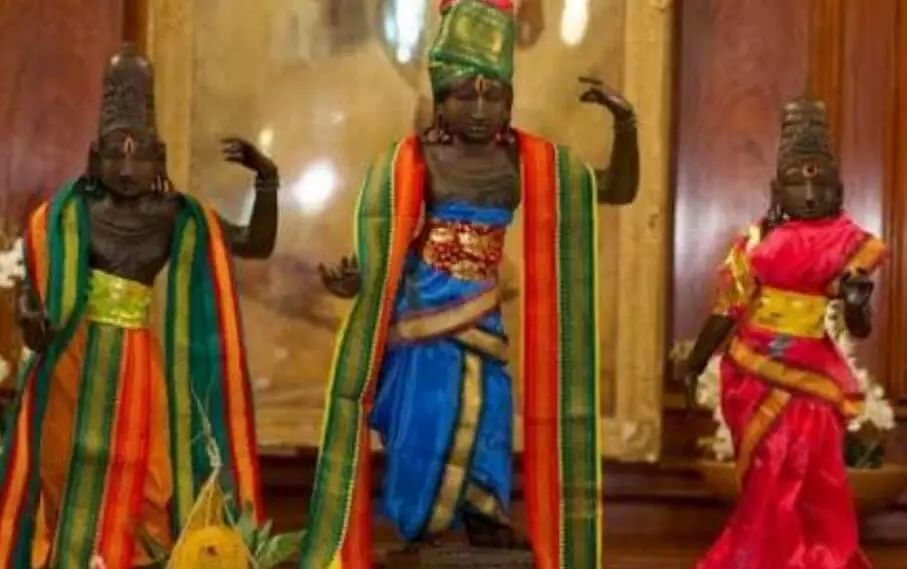 15th century bronze idols returned to India