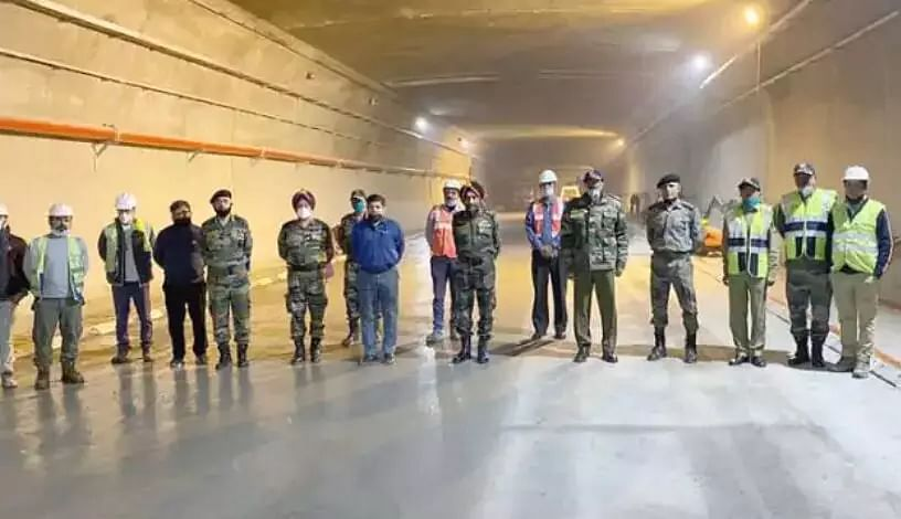 Atal Tunnel, the worlds longest highway tunnel above 10,000 ft connecting Manali with Leh, ready