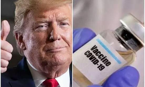 Very close to having a vaccine says Donald Trump, raises hope