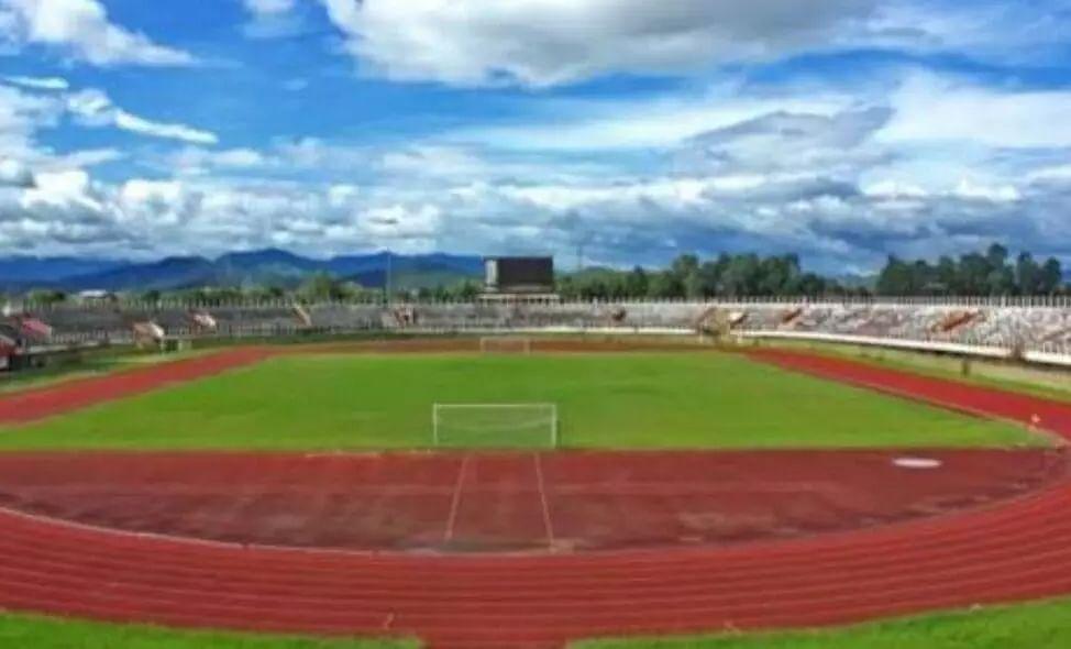 Aizawls Rajiv Gandhi Stadium