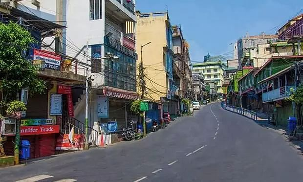 Mizoram extends partial lockdown in AMC area after 125 new COVID cases reported