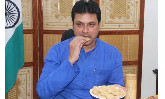 Tripura CM launches nutritious bamboo-made cookies amid COVID-19 fight