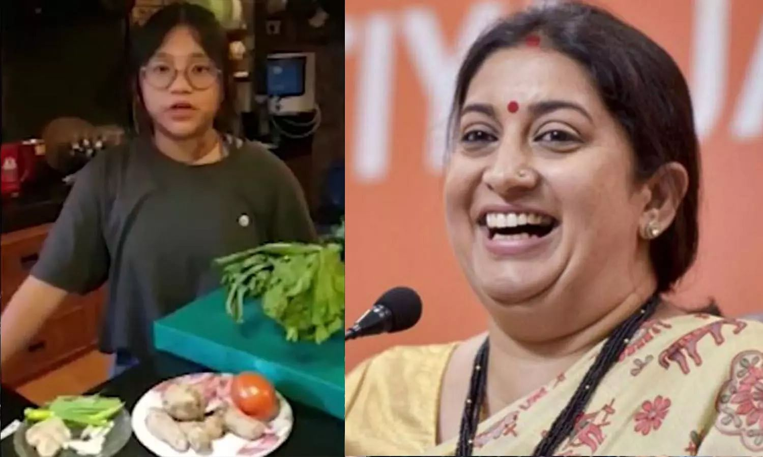 13-year-old chef from Dimapur showcases dish learnt from grandmother; Smriti Irani shares on Twitter