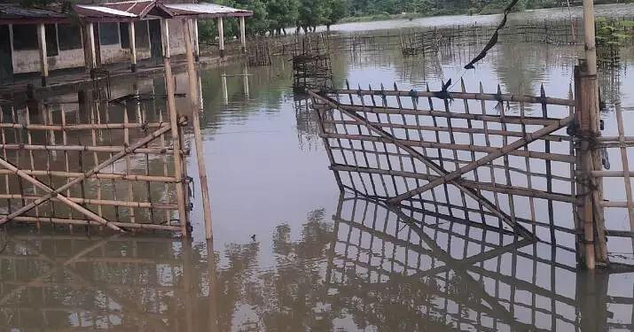 Fresh flood wave