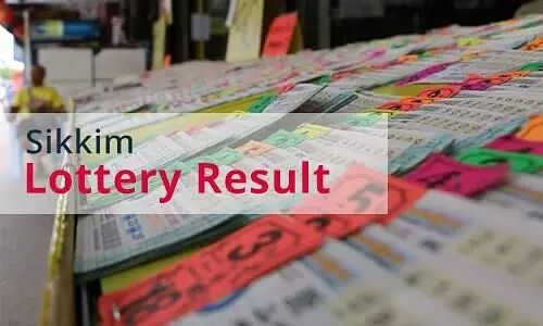 Sikkim State Lottery Result for 29 September, 2020; Check details here