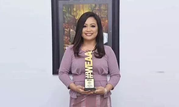 Self-taught Mizoram artist bags Womens Excellence Achievement Awards