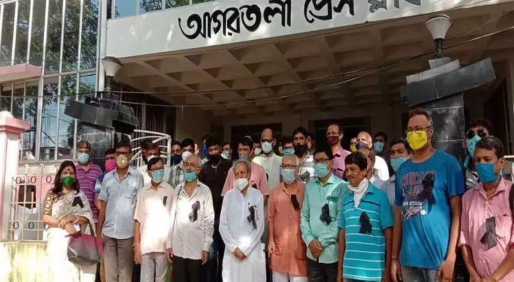 Tripura journos