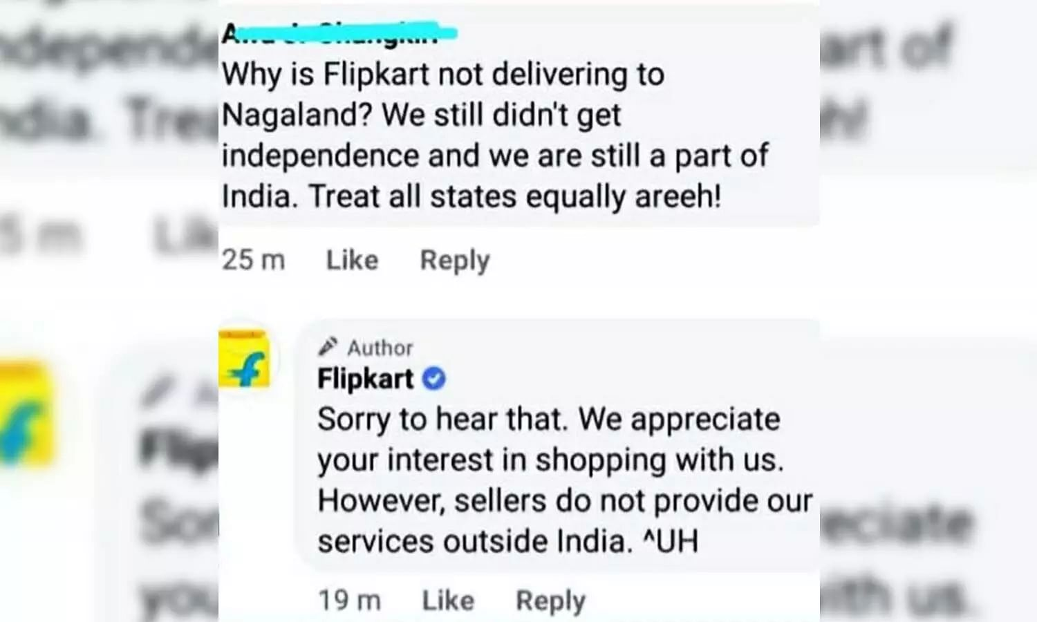Nagaland is an independent state!