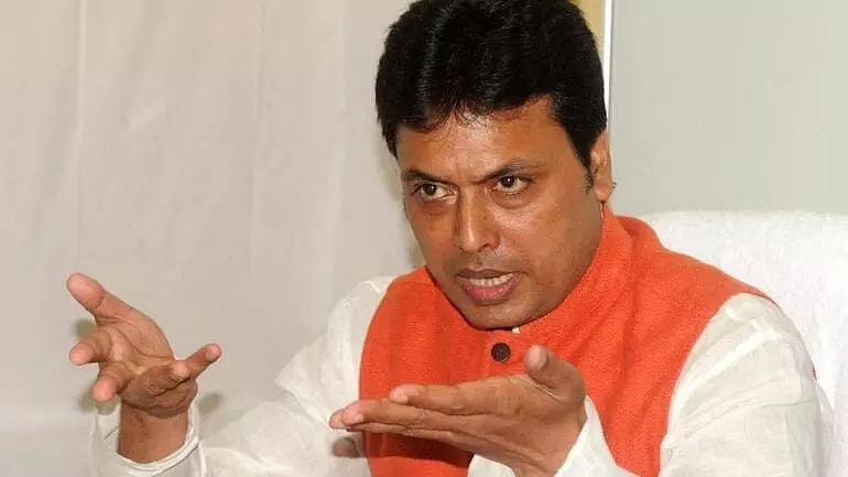 If 80% of people hang pictures of Swami Vivekananda in their homes, BJP Govt will last for 30 years: Tripura CM