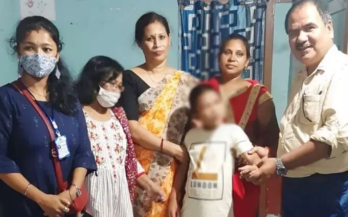 Find out how an autistic child missing from UP was traced in Assams Goalpara using police software