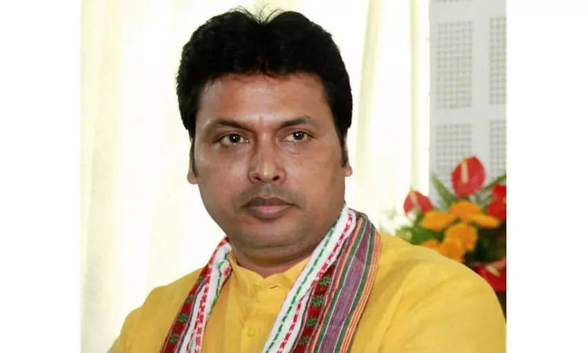 Tripura MLAs reach Delhi to meet partys top leaders, revolt to remove CM Biplab Deb