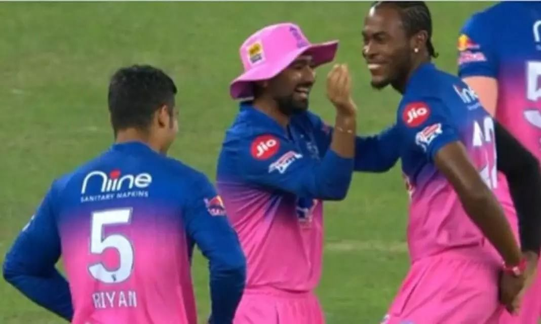 Bihu is clearly on Rajasthan Royals mind! Watch Jofra Archer showing his brilliant Bihu steps