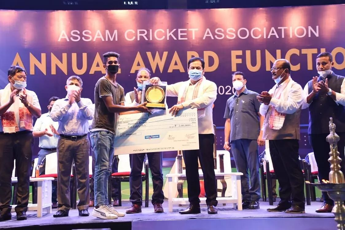 Assam Cricket Association inaugurates its first Annual Awards