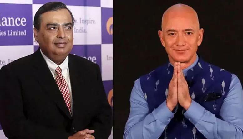 Mukesh Ambani vs Jeff Bezos