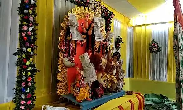 Durga Puja minus the festivities; Guwahati Puja committees stick to rituals only