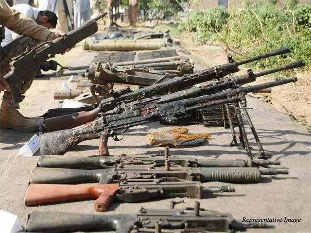 Arms and ammunition in Manipur